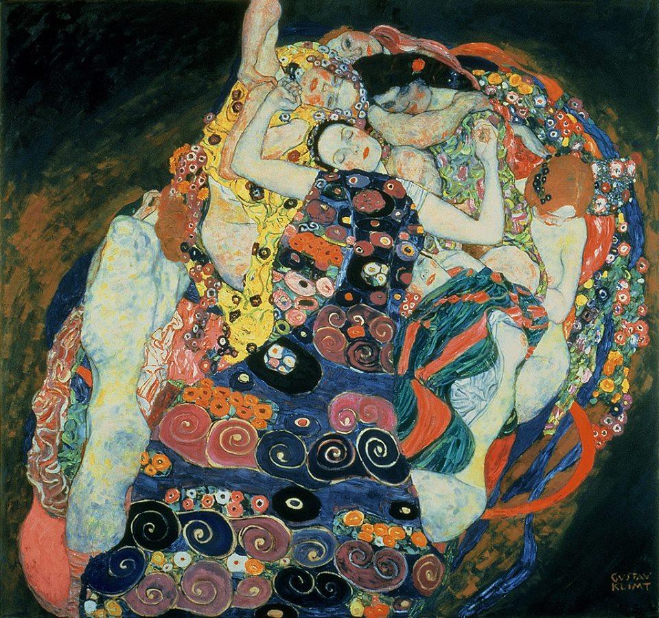 gustav Klimt, The Maiden, 1913