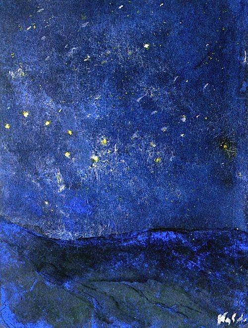 Starry Sky Emil Nolde - 1938-1945
