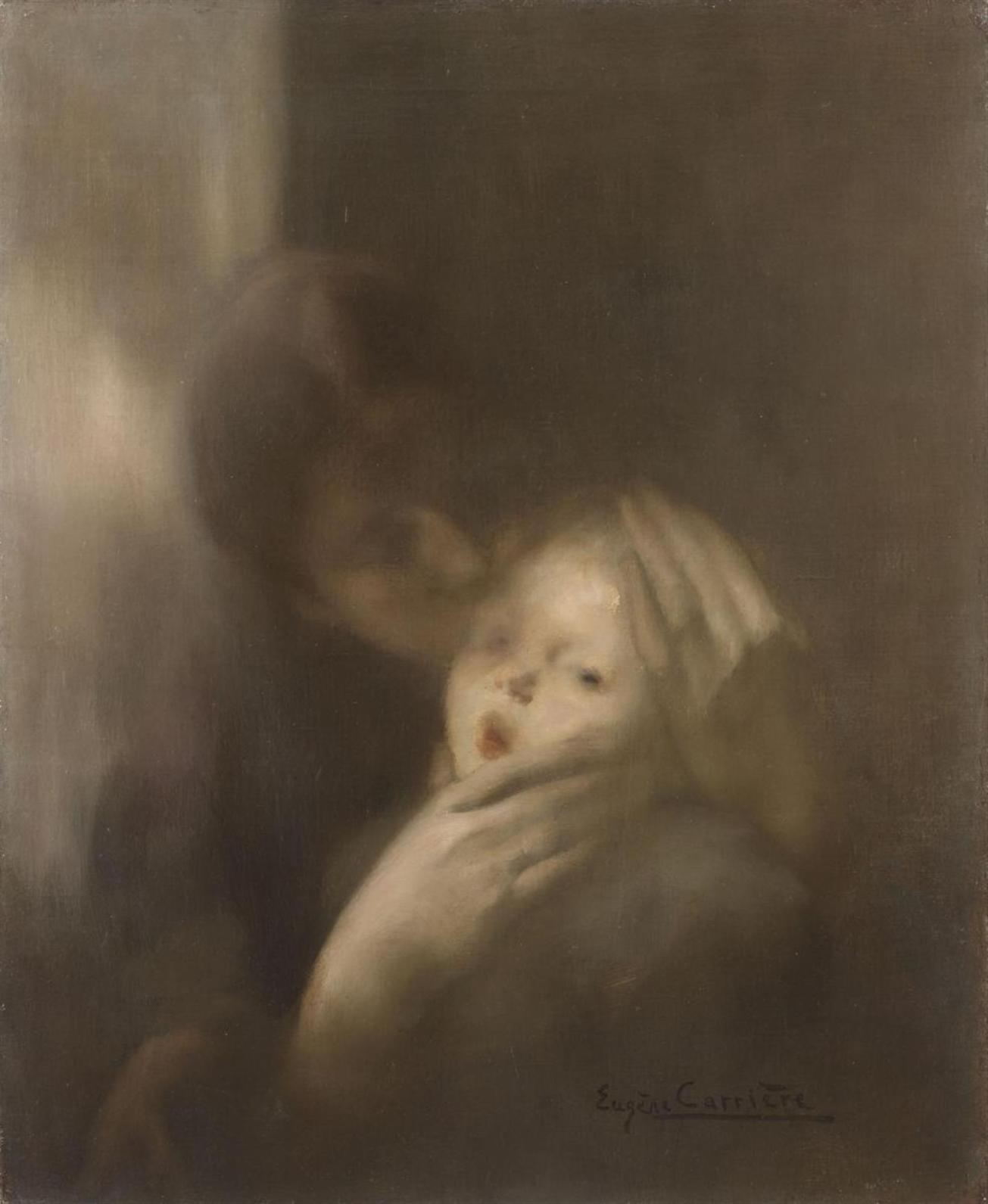 Lempertz_1013_653_Modern_Art_May_25_2013_Eugène_Carrière_Maternité_Tendresse