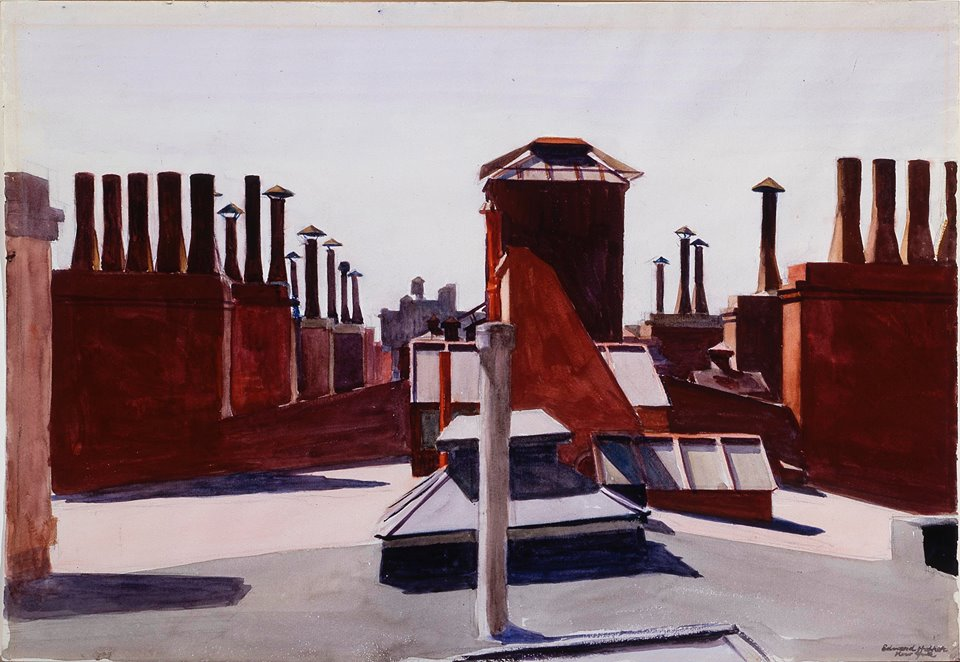 edward-hopper-american-american-realism-1882-1967-roofs-washington-square-1926-watercolor-over-charcoal-on-paper-22-18-x-28-18-56-2-x-71-44-carnegie-museum-of-art-pittsburgh-pennsylvan